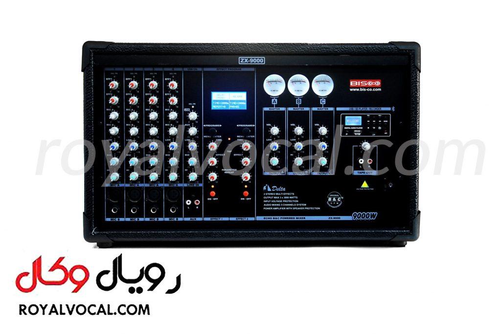 اکو آمپلی فایر بیسکو مدل ZX-9000