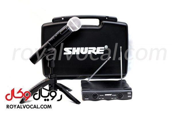 میکروفون بیسیم تک کانال SHURE مدل sm58 (تک دست)