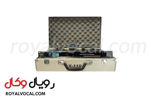 میکروفون بیسیم تک کانال یقه ای و هدست VOCAL مدل V-110KST